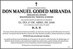 Manuel Goded Miranda
